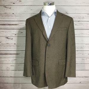 Men's STAFFORD Houndstooth Blazer 100% Wool